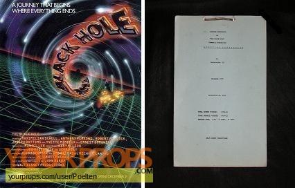 The Black Hole original production material