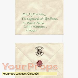 Harry Potter movies original movie prop
