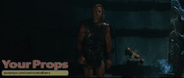 Troy original movie prop