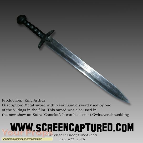 King Arthur original movie prop weapon