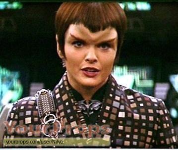 Star Trek  Nemesis swatch   fragment movie costume