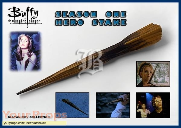 Buffy the Vampire Slayer original movie prop weapon