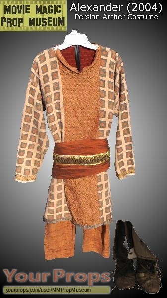 Alexander original movie costume