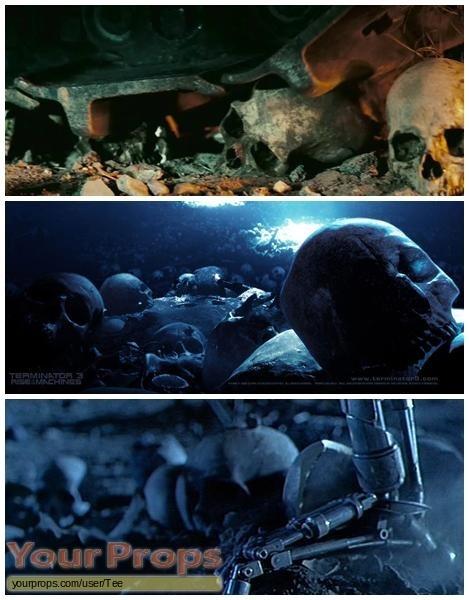 Terminator 3  Rise of the Machines original movie prop