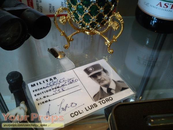 James Bond  Octopussy replica movie prop
