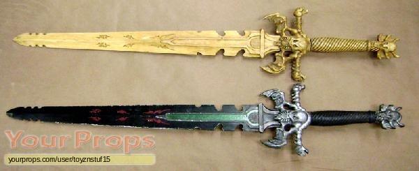 Dungeons   Dragons original movie prop weapon
