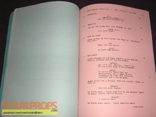 Star Trek  Deep Space Nine original production material
