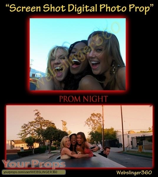 Prom Night original production material