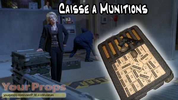 Stargate SG-1 replica movie prop