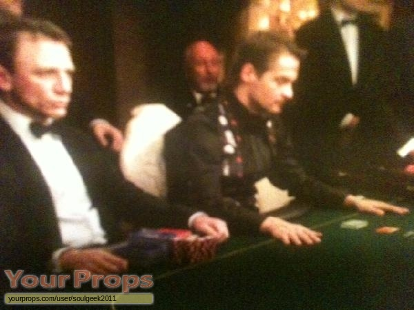James Bond  Casino Royale replica movie prop