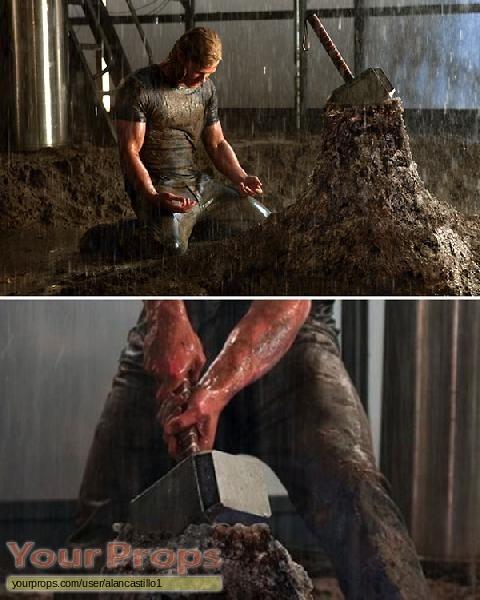 Thor replica movie prop