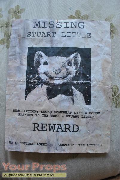 Stuart Little original movie prop