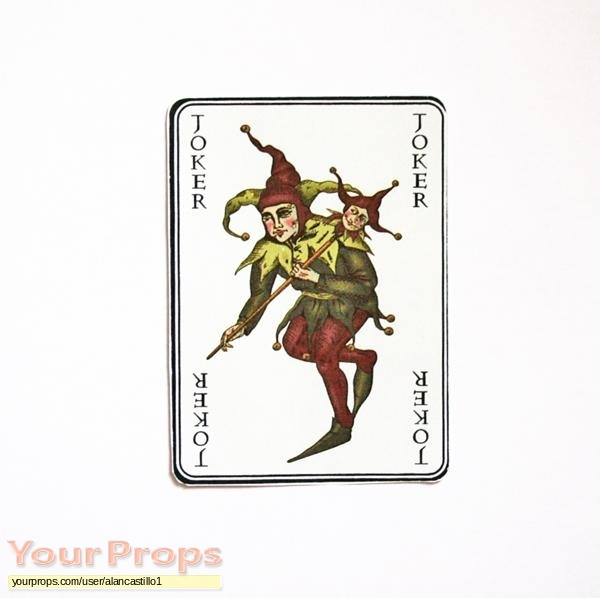 Batman Begins Joker Card Batman Begins Joker Ev...