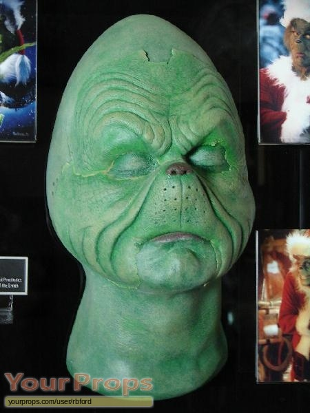 How the Grinch Stole Christmas Jim Carrey's Screen Used Grinch ...