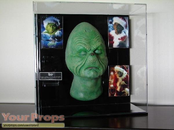 ... How the Grinch Stole Christmas original make-up prosthetics