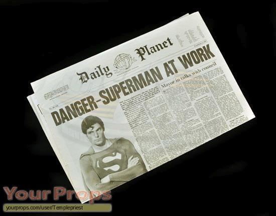 Superman III original production material