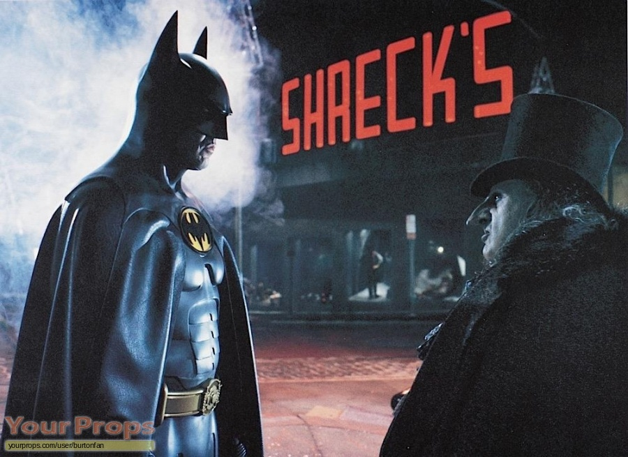 Batman Returns original production material