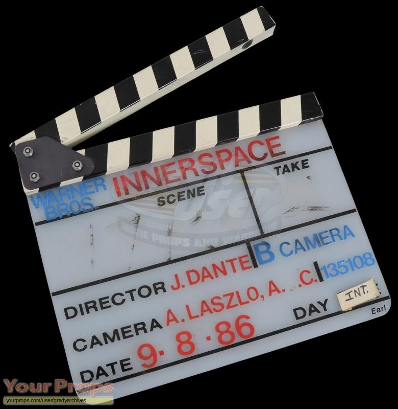 Innerspace original production material