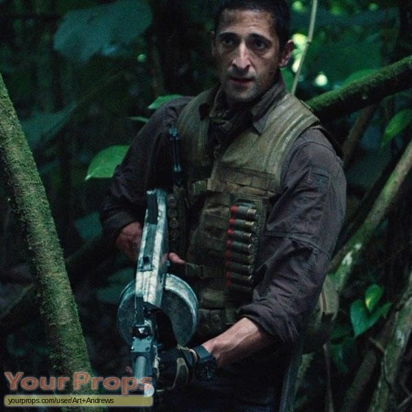 Predators original movie prop weapon