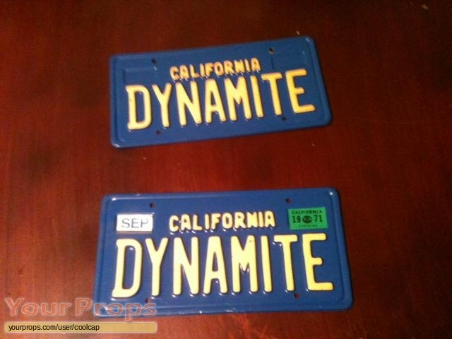 Black Dynamite original movie prop