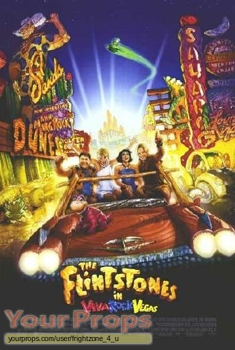 The Flintstones in Viva Rock Vegas original movie prop