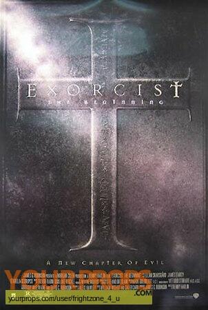 Exorcist IV  The Beginning original movie prop