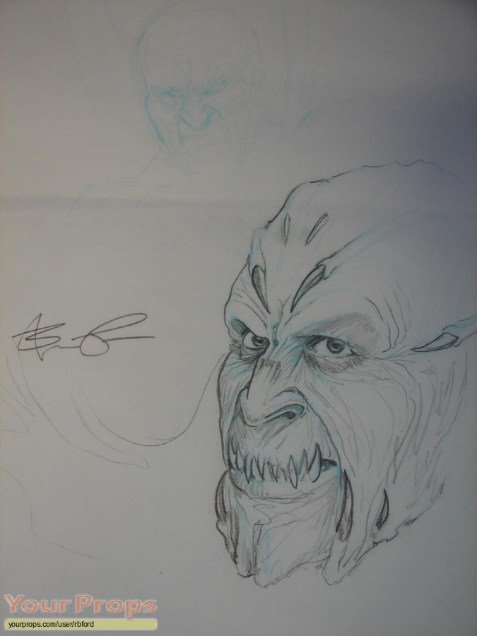 Jeepers Creepers 2 original production artwork