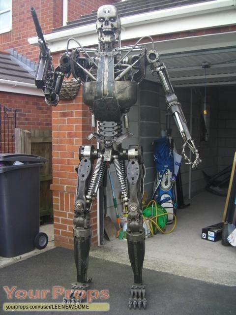Terminator Salvation replica movie prop