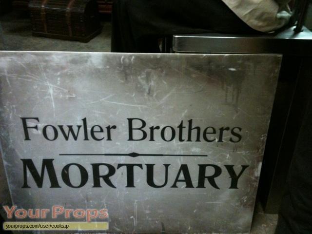 Mortuary original movie prop