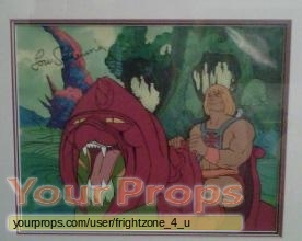 He-Man and the Masters of the Universe original production material