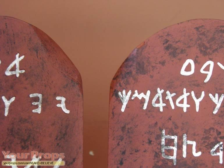 The Ten Commandments replica movie prop