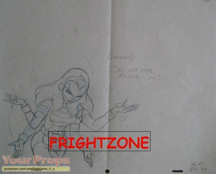 She-Ra  Princess of Power original production artwork