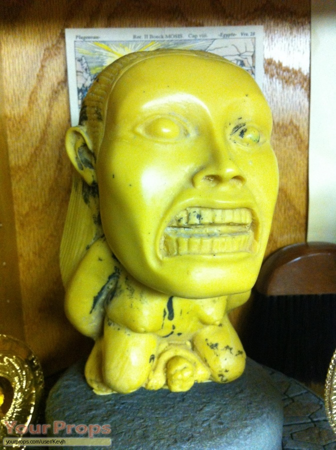 Indiana Jones And The Raiders Of The Lost Ark original movie prop