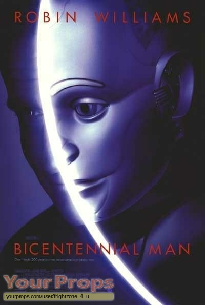 Bicentennial Man original movie prop