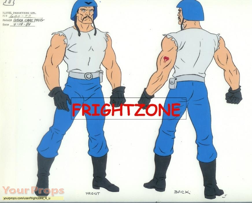 G I  Joe original production material
