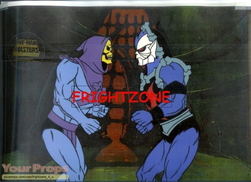 She Ra Princess Of Power Hordak Vs Skeletor Cel Original Prod