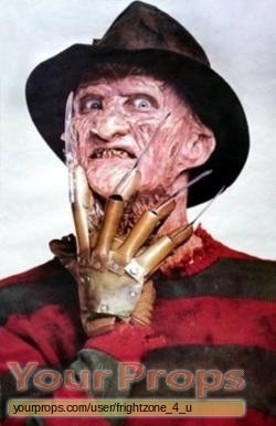 A Nightmare On Elm Street 2  Freddys Revenge replica production material