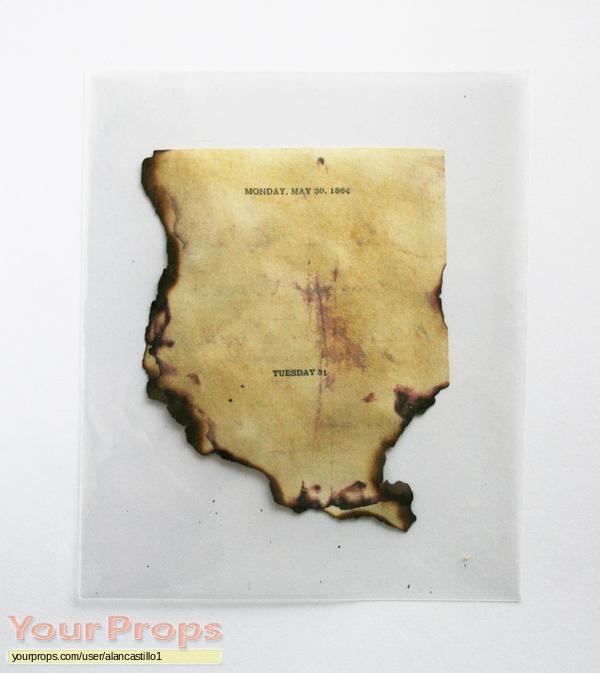 National Treasure 2  Book of Secrets replica movie prop
