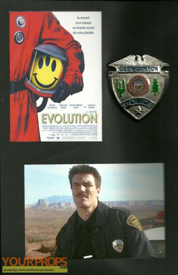 Evolution original movie prop