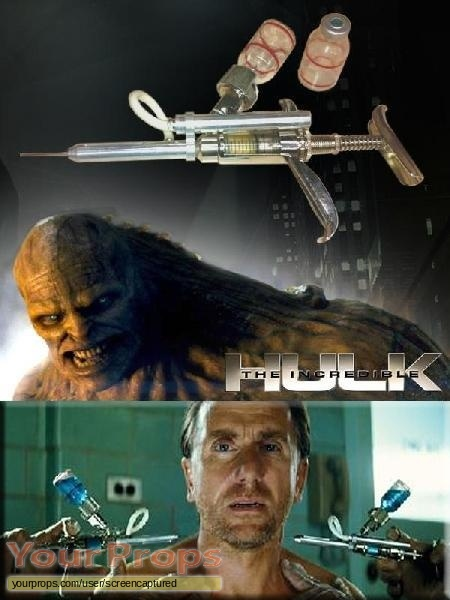 The Incredible Hulk original movie prop weapon