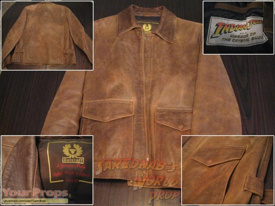 Indiana Jones And The Kingdom Of The Crystal Skull replica movie costume