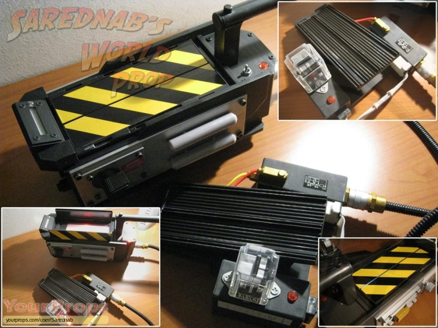 Ghostbusters replica movie prop