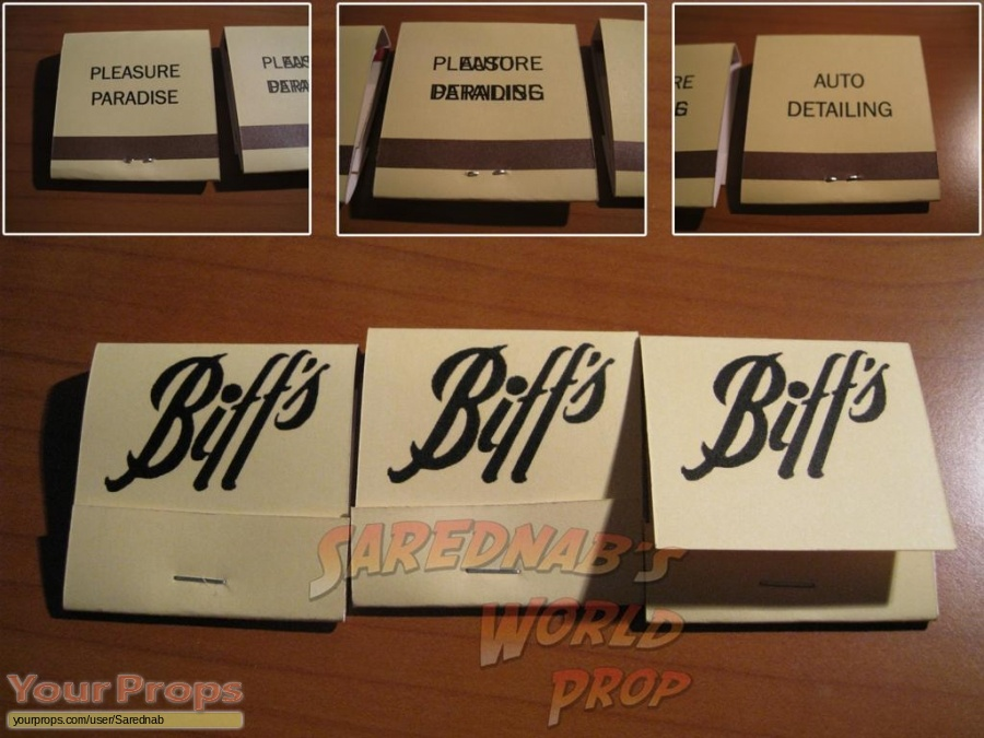 Back To The Future 2 replica movie prop