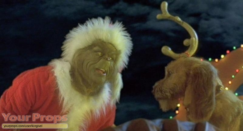 How the Grinch Stole Christmas original movie costume
