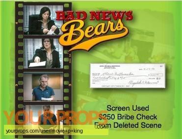 Bad News Bears original movie prop