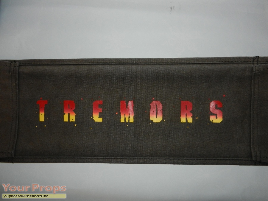 Tremors original film-crew items