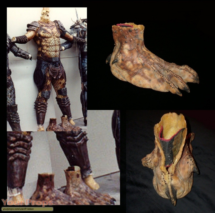 Predator 2 original movie prop