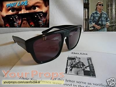 They Live original movie prop