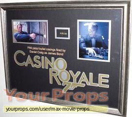 James Bond  Casino Royale original movie prop weapon