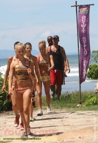 Survivor Redemption Island original movie prop